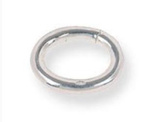 Zilveren clip sluiting