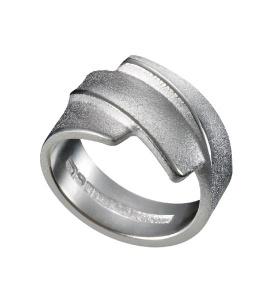 zilveren ring model Electra ontwerper Zoltan Popovits