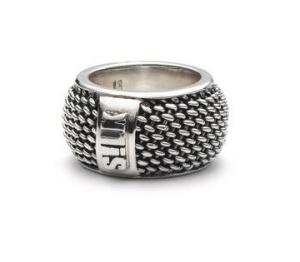 Zilveren Silk ring Madonna