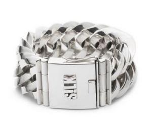 Zeer zware zilveren armband