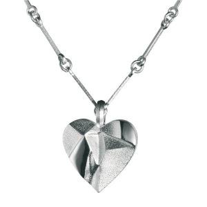 zilveren collier model My Foolish Heart ontwerper Bjorn Weckström