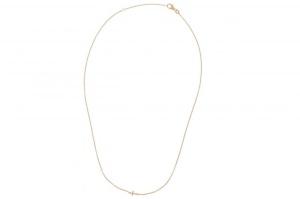 14 krt geelgouden Miss Spring hanger incluisief collier