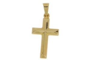 Geelgouden kruisje