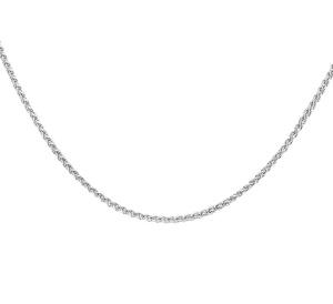 Zilveren collier 42 cm