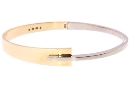 Nol armband in 14 krt geel/wit goud NOl-AUB81228.10