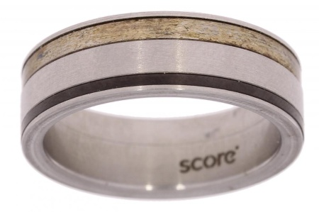 Verlinden Steel Collection Titanium herenring maat 60 60/st.ti.zi n.a.l