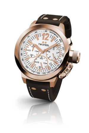 TW steel CEO CANTEEN 45 mm rose chrono