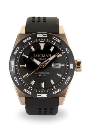 Locman Italy Locman Stealth 300 meter heren pols horloge Loc-0215V5RKBK5NS2K