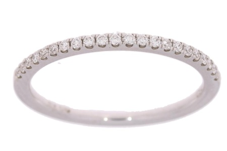 Verlinden Diamond CollectionS Witgouden damesring met diamant maat 53