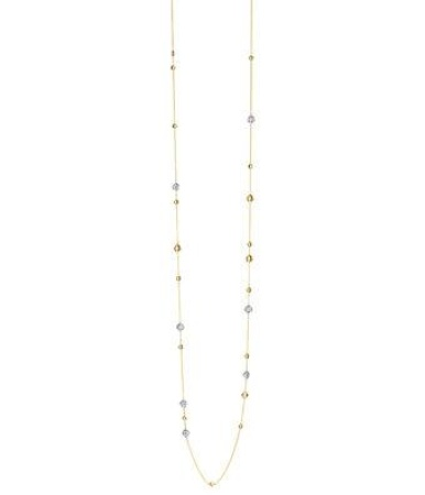 Tirisi Jewelry 18 krt roségouden collier met 0.56 crt diamant 90 cm 0.56 crt diamant