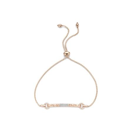 Tirisi Jewelry 18 krt roségouden armband met 0.08 crt diamant RG