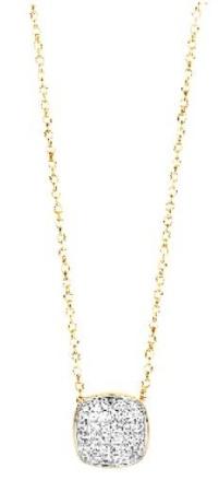 Tirisi Jewelry 18 krt bicolor gouden hanger met 0.28 crt diamant incl. collier 42-43-45 cm