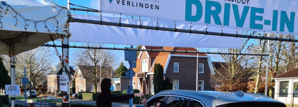 Drive in Take-Away Beeld bellen