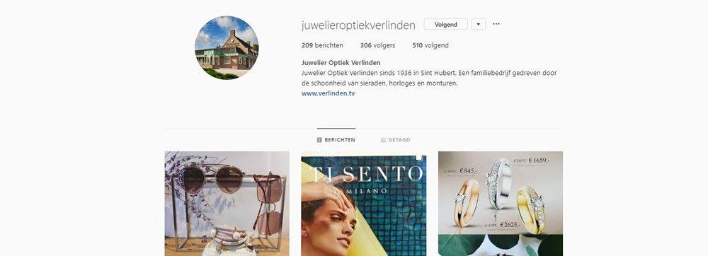 Verlinden op Instagram